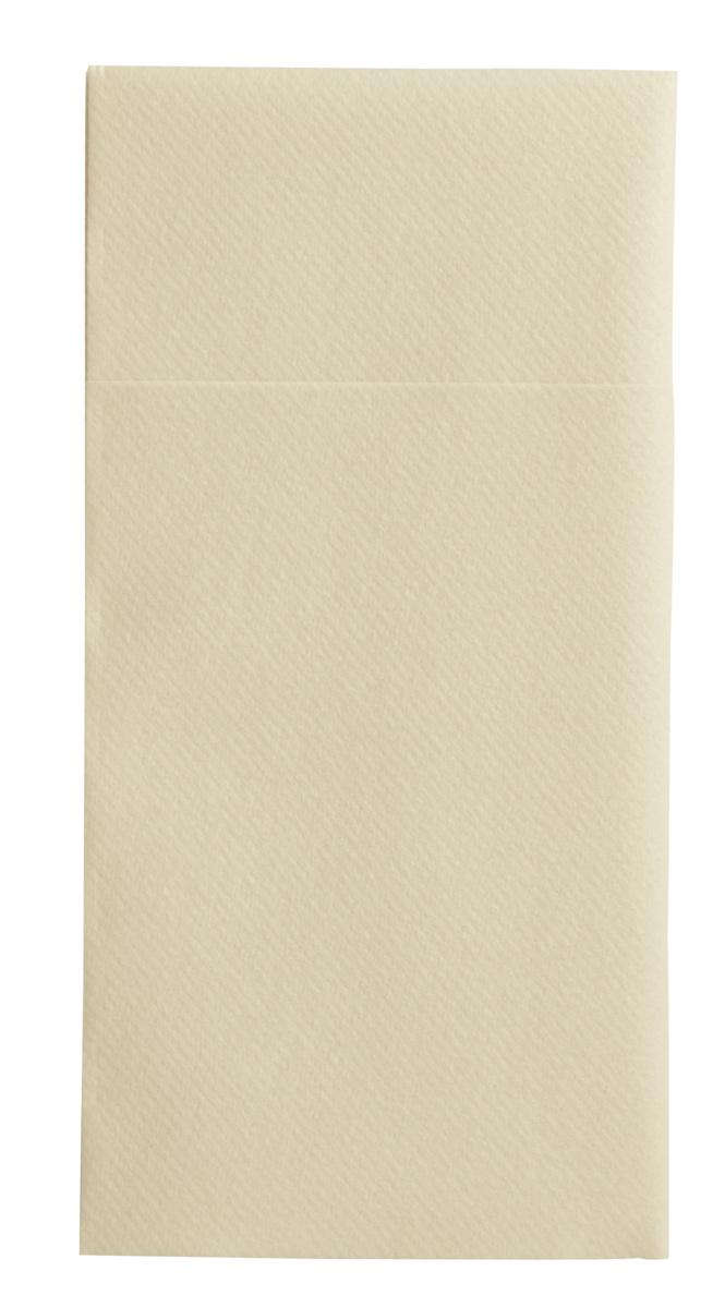 Pochette ivoire non tissé 40x40 cm Switty Pro.mundi (50 pièces)