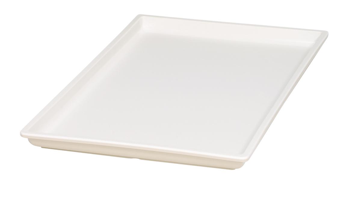 Bac rectangulaire beige mélamine 53 cm Vestah Platex