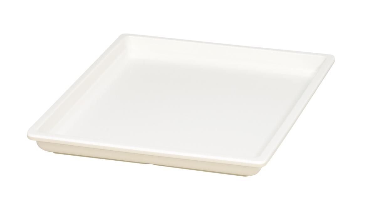 Bac gn 1/2 rectangulaire beige mélamine 32,50 cm Vestah Platex