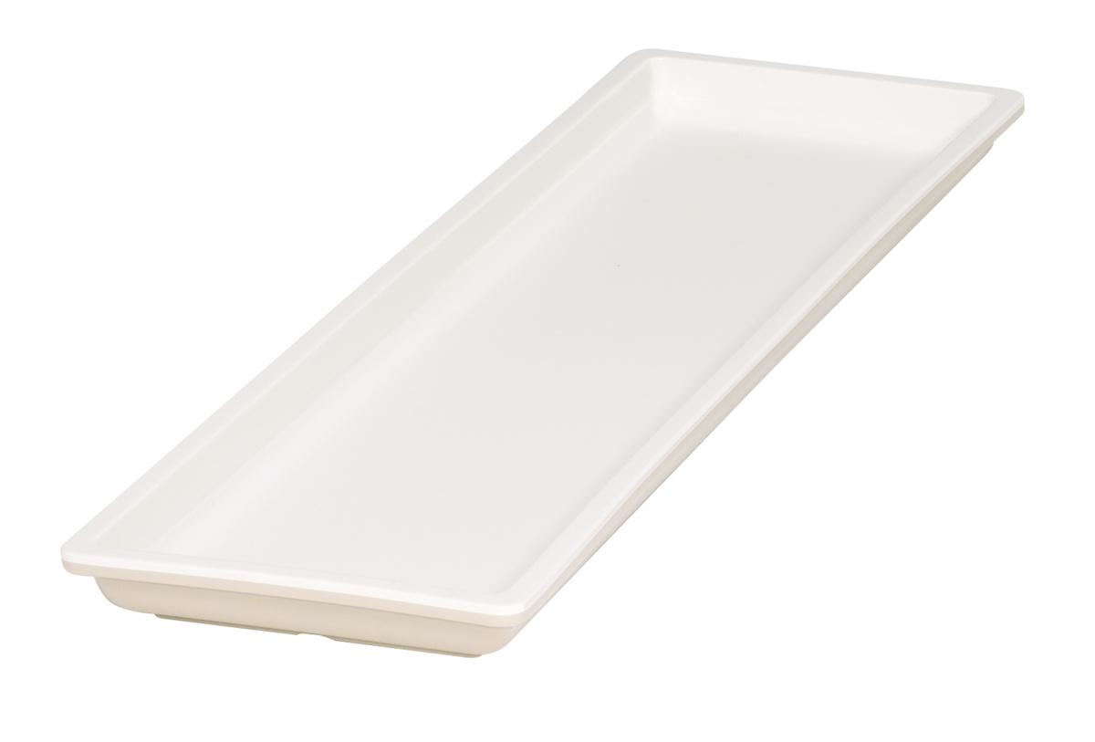 Bac gn 2/4 beige mélamine 53 cm Vestah Platex
