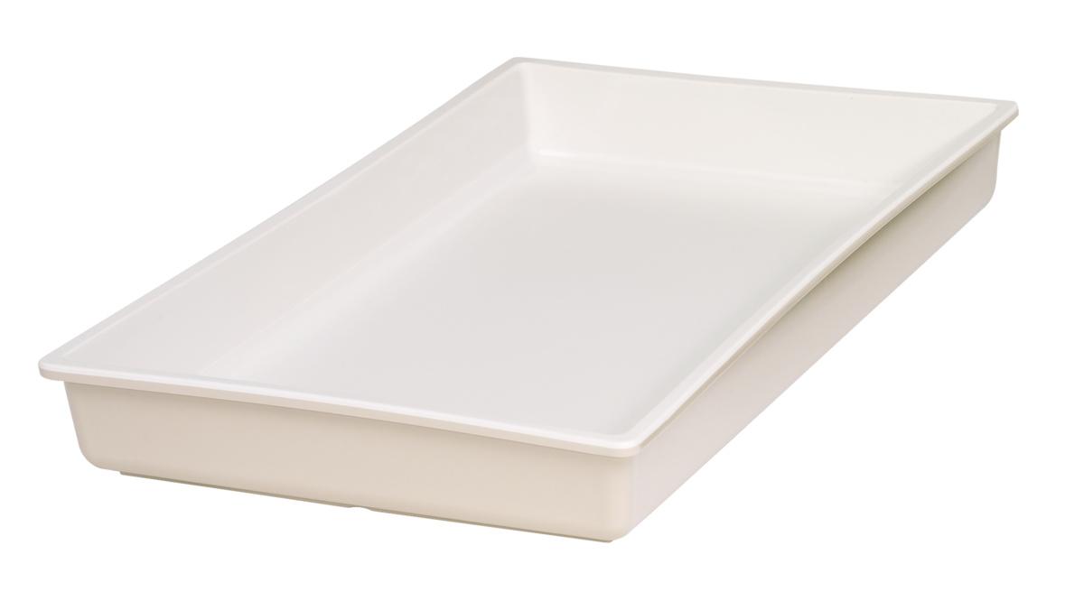 Bac gn 1/1 beige mélamine 53 cm Vestah Platex