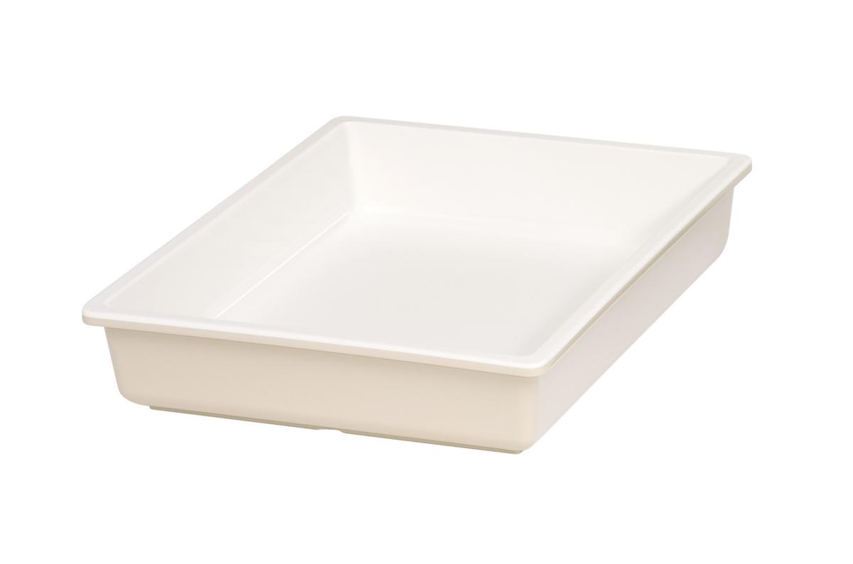 Bac gn 1/2 beige mélamine 32,50 cm Vestah Platex
