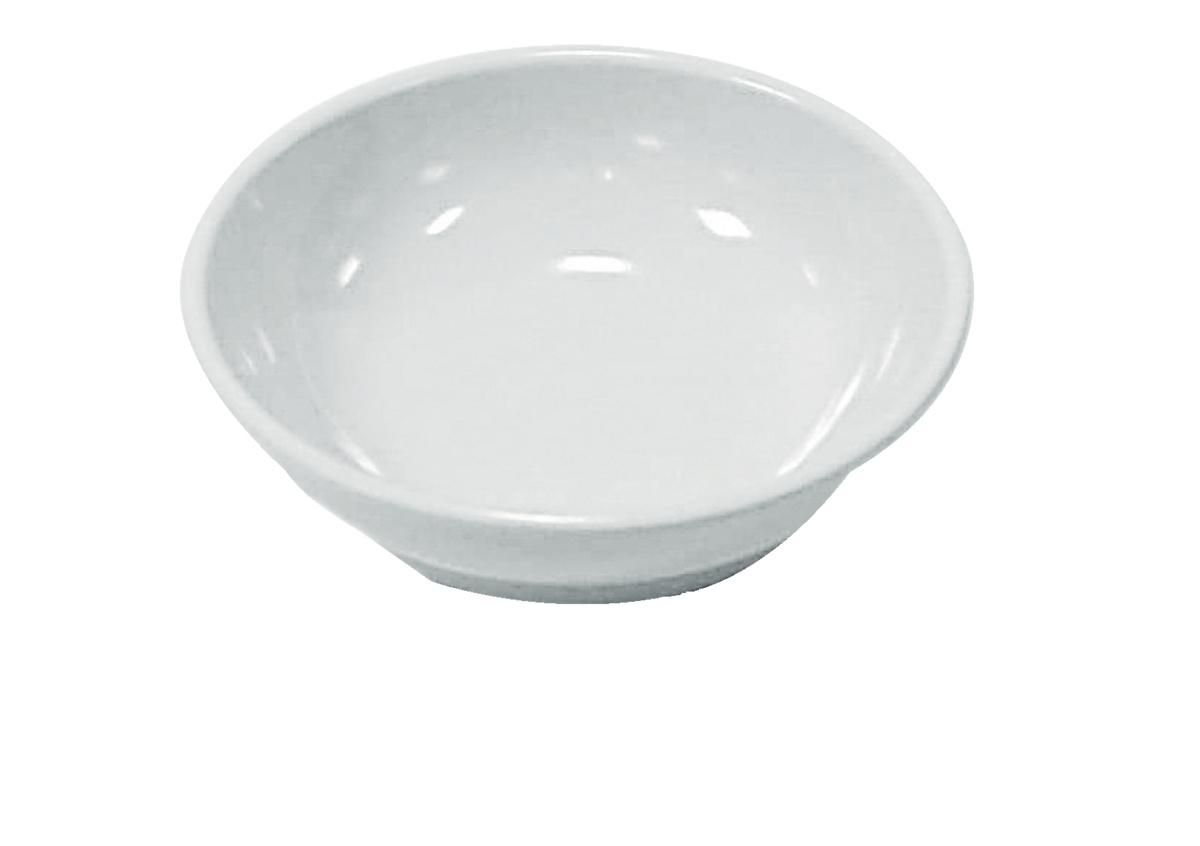 Bol rond blanc mélamine Platex
