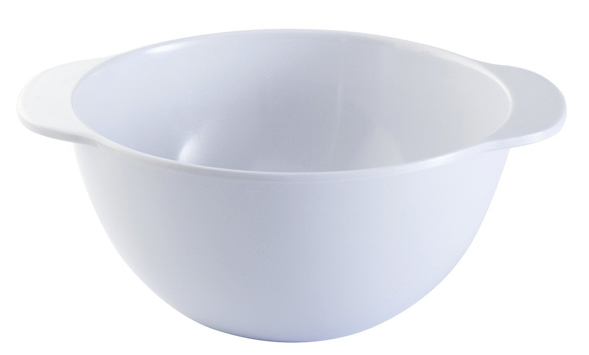 Bol à oreilles rond blanc mélamine 35 cl Ø 12,50 cm Platex