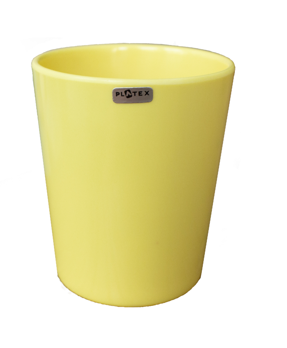 Gobelet mélamine jaune 20 cl