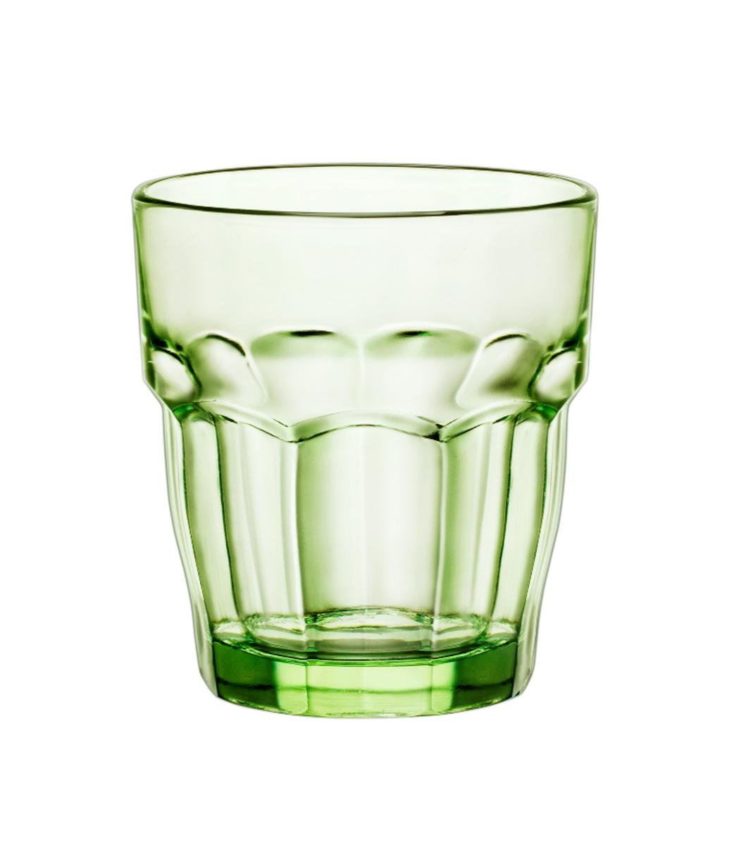 Gobelet forme basse vert 27 cl Rock Bar Bormioli Rocco