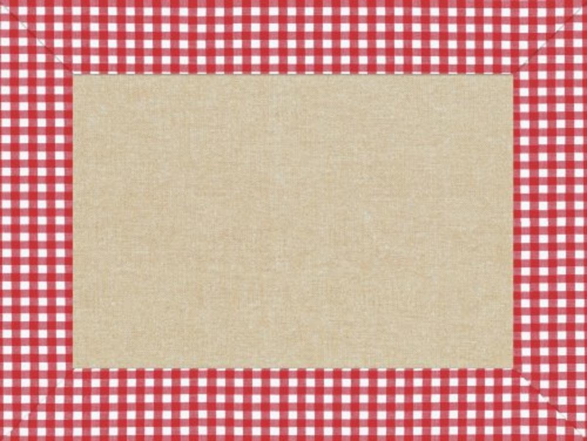 Set de table rouge papier 40x30 cm Cogir (500 pièces)