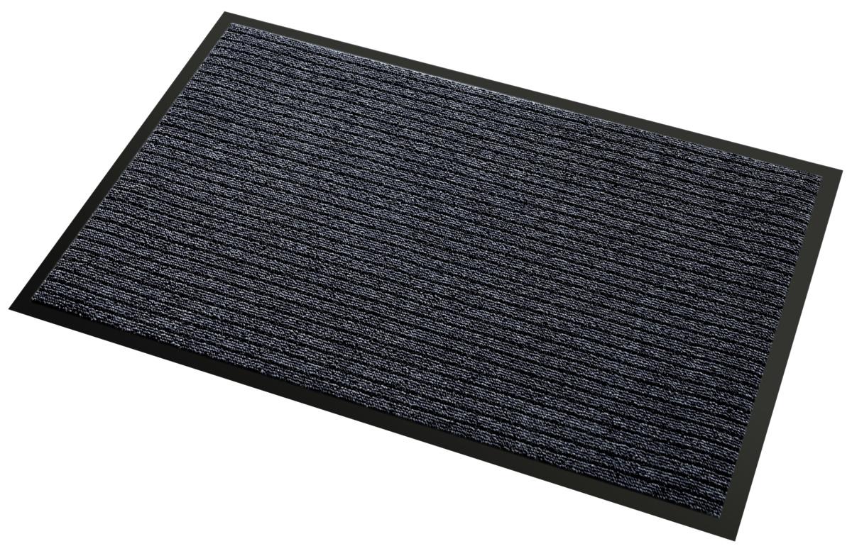 Tapis d'accueil intérieur rectangulaire noir 90x150 cm Tapis Aqua 3m
