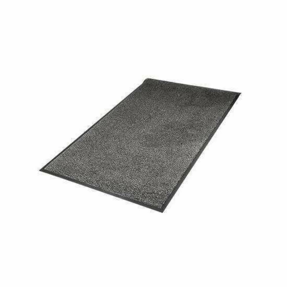 Tapis d'accueil intérieur rectangulaire gris 60x90 cm Softex 3m