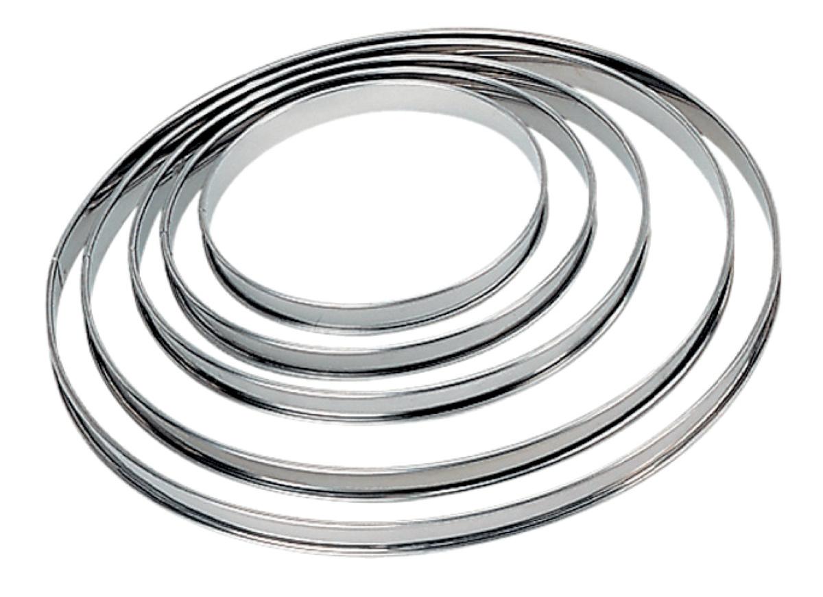 Cercle à tarte inox Ø 28 cm