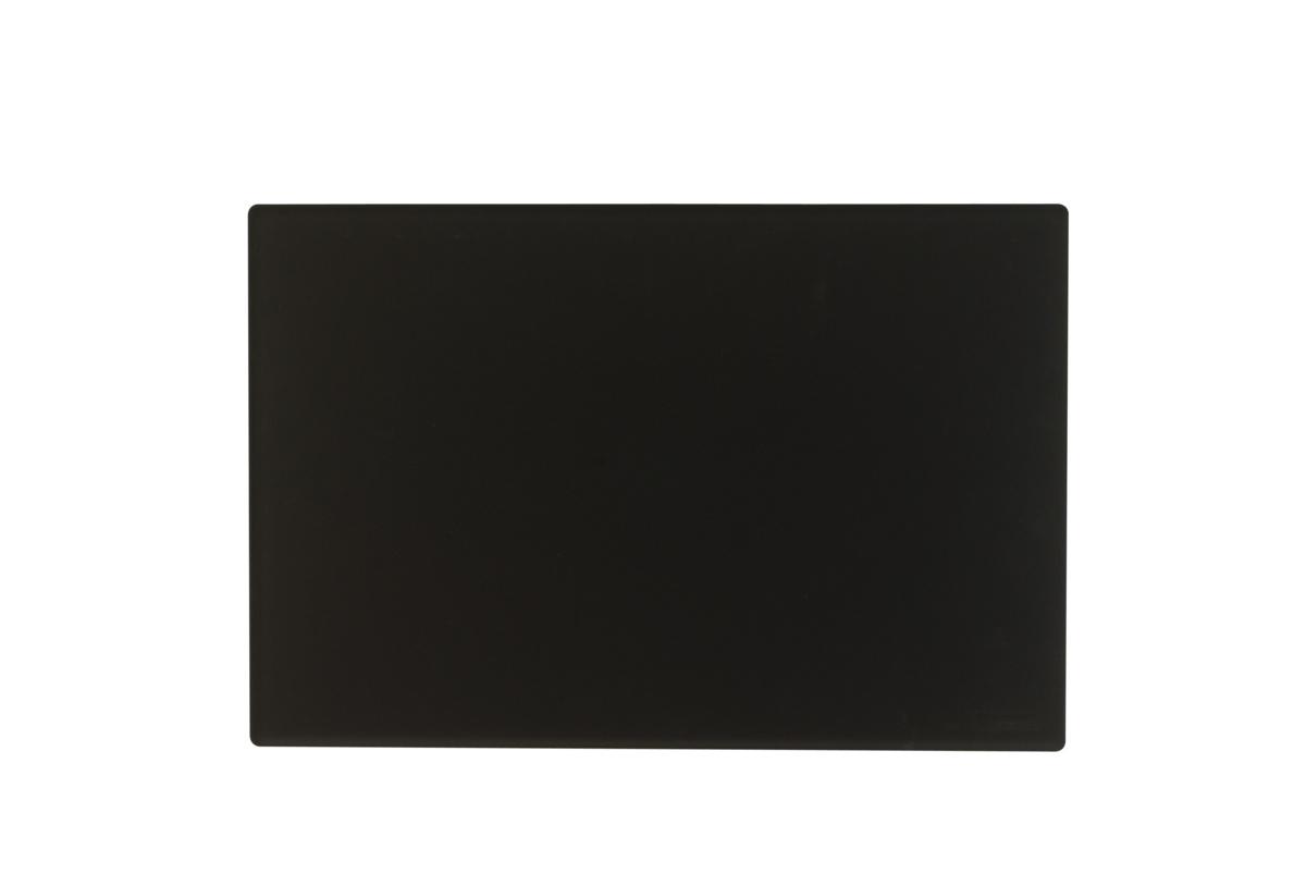 Plat de présentation rectangulaire réglisse plastique 40 cm Pap 2 Platex