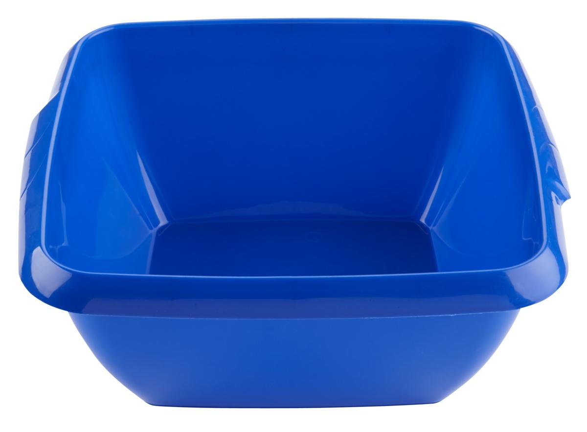 Cuvette carrée bleue 9 l