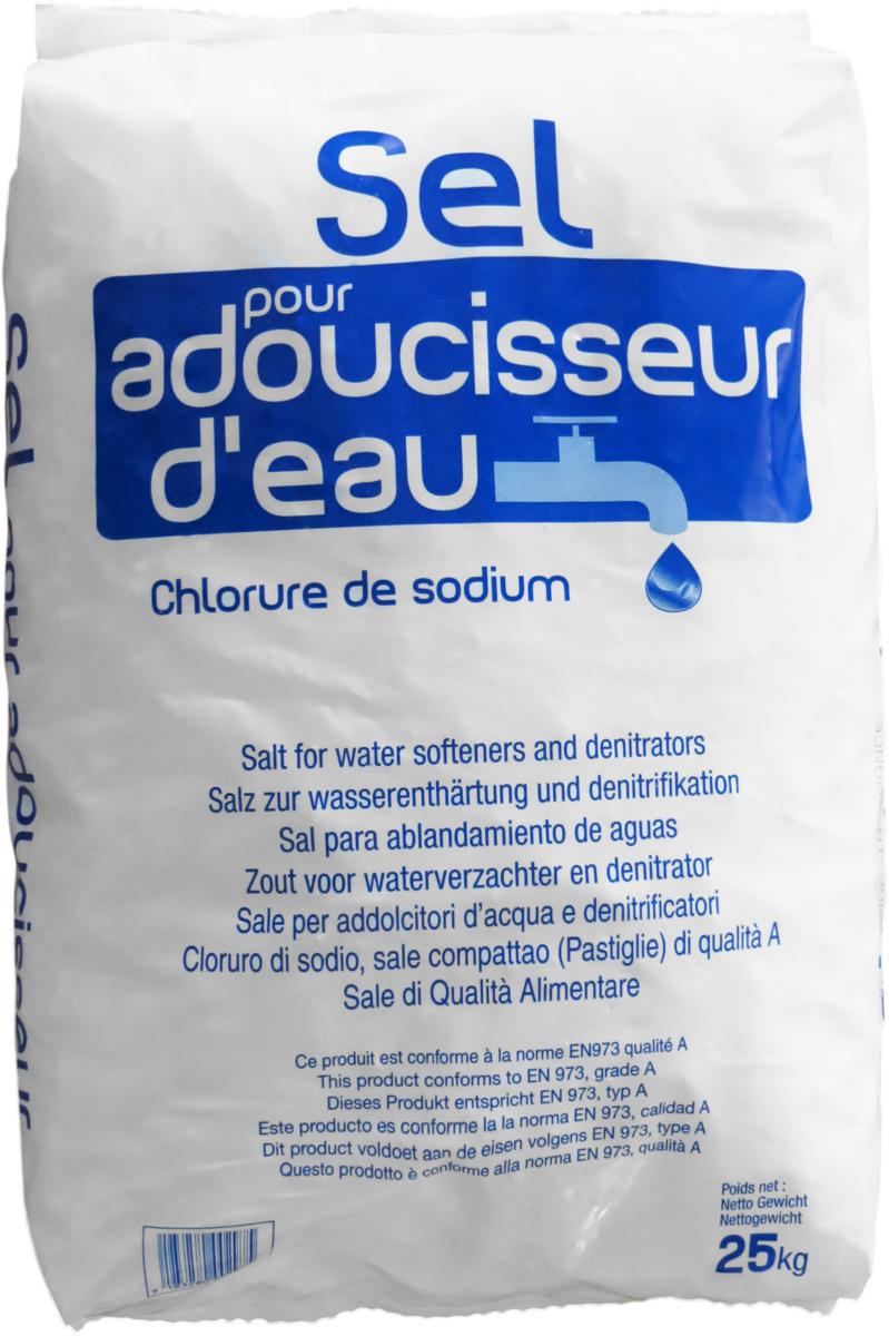 Pastilles de sel régénérant (25 pièces)