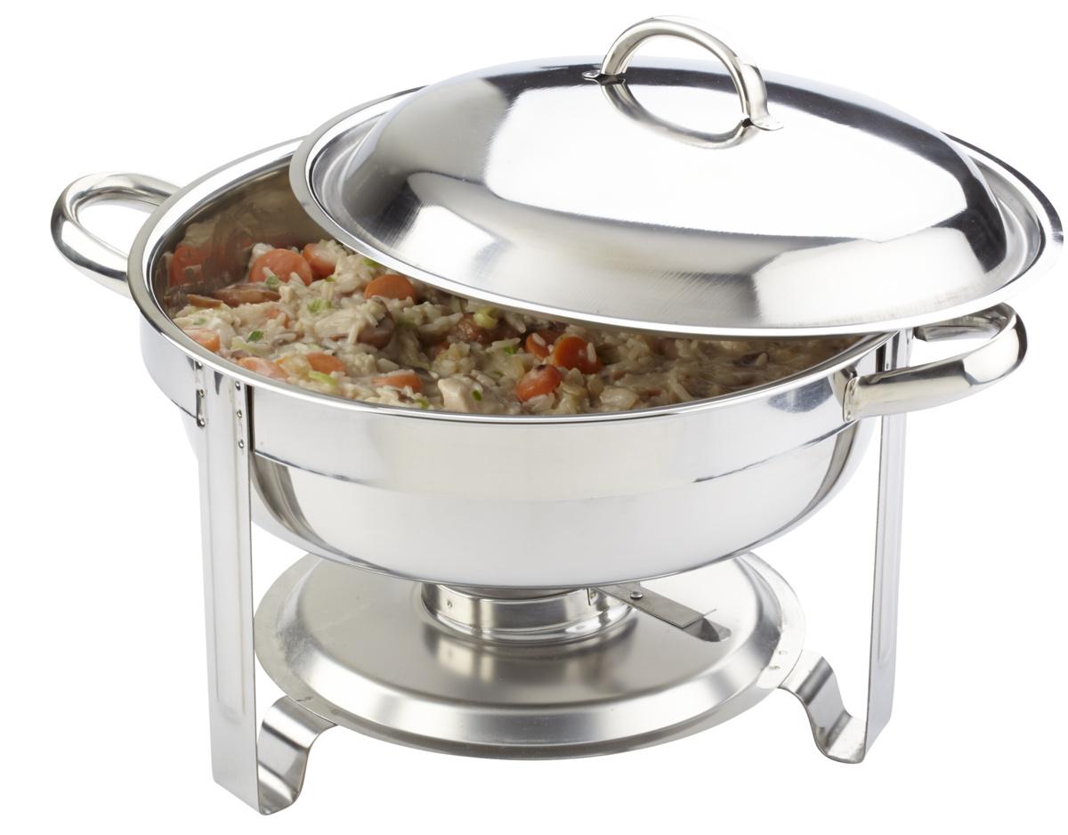 Chafing dish rond 3,50 l Eco Pro.mundi