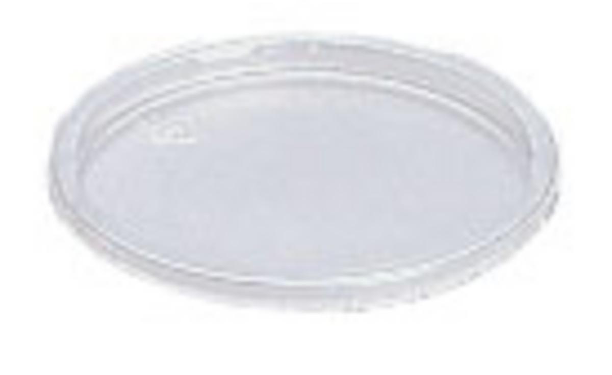 Couvercle godet témoin plastique Ø 7,50 cm (100 pièces)