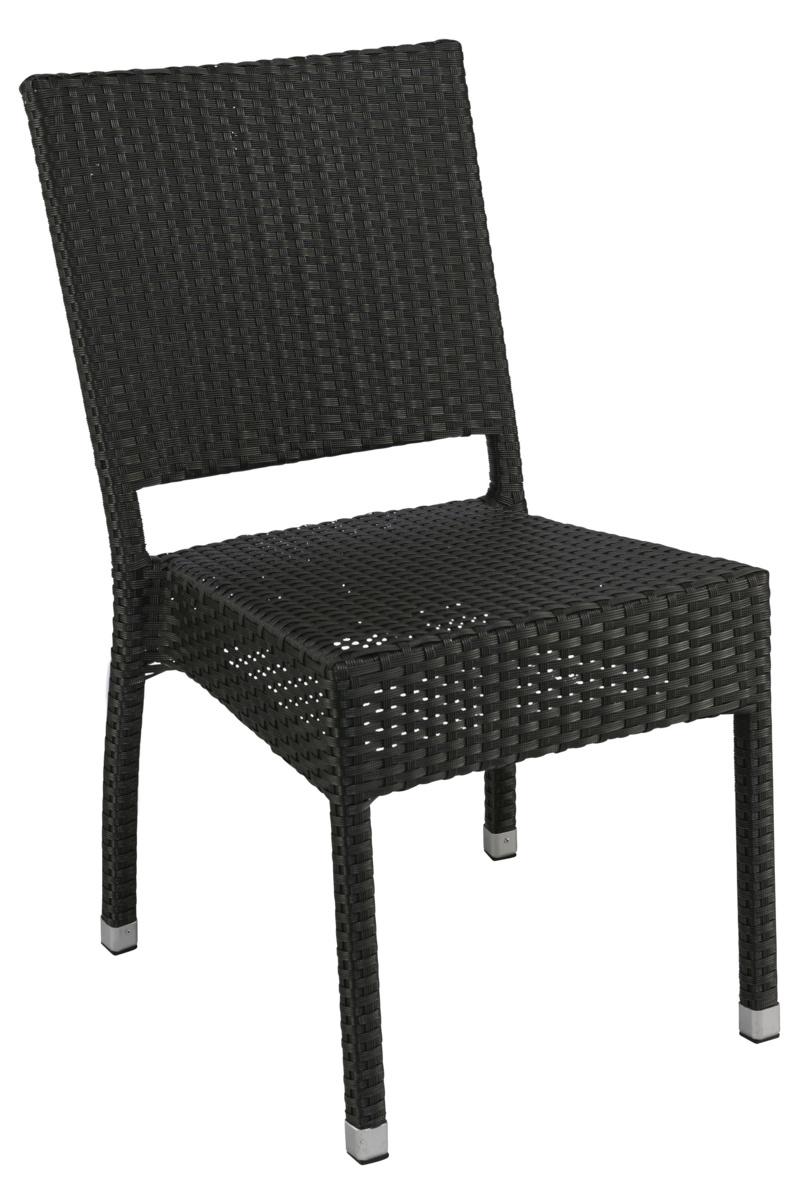 Chaise noire 45 cm Sarah