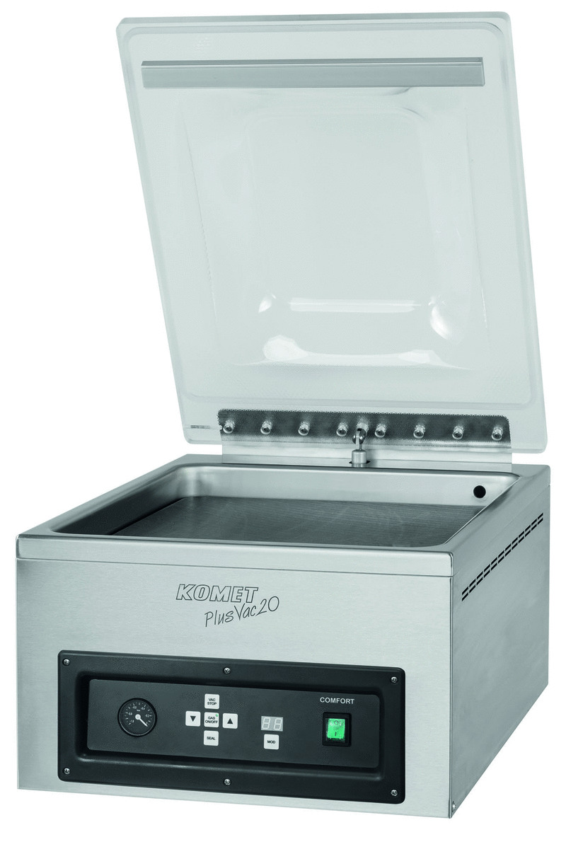 Machine sous vide plusvac 20 comfort carrée 1100 W Komet