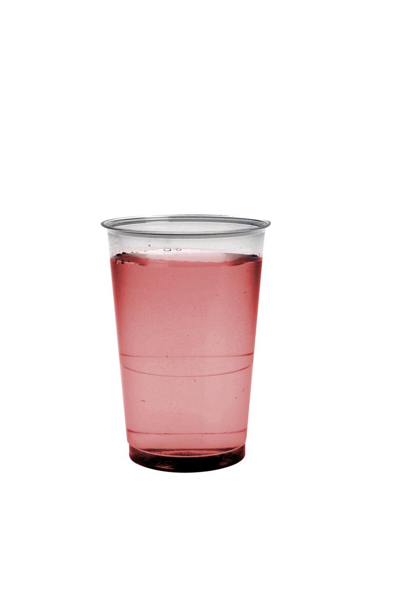 Gobelet transparent plastique 23 cl (50 pièces)