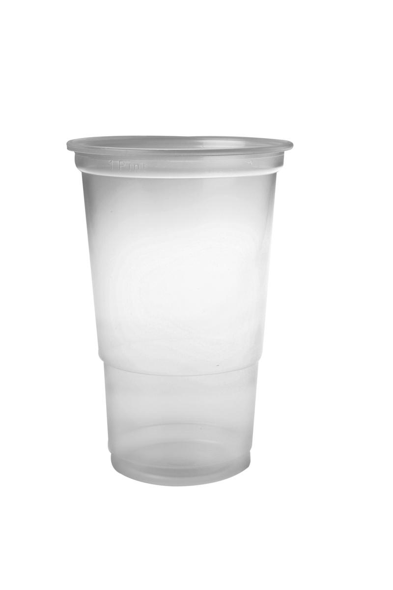 Gobelet transparent plastique 61 cl (50 pièces)