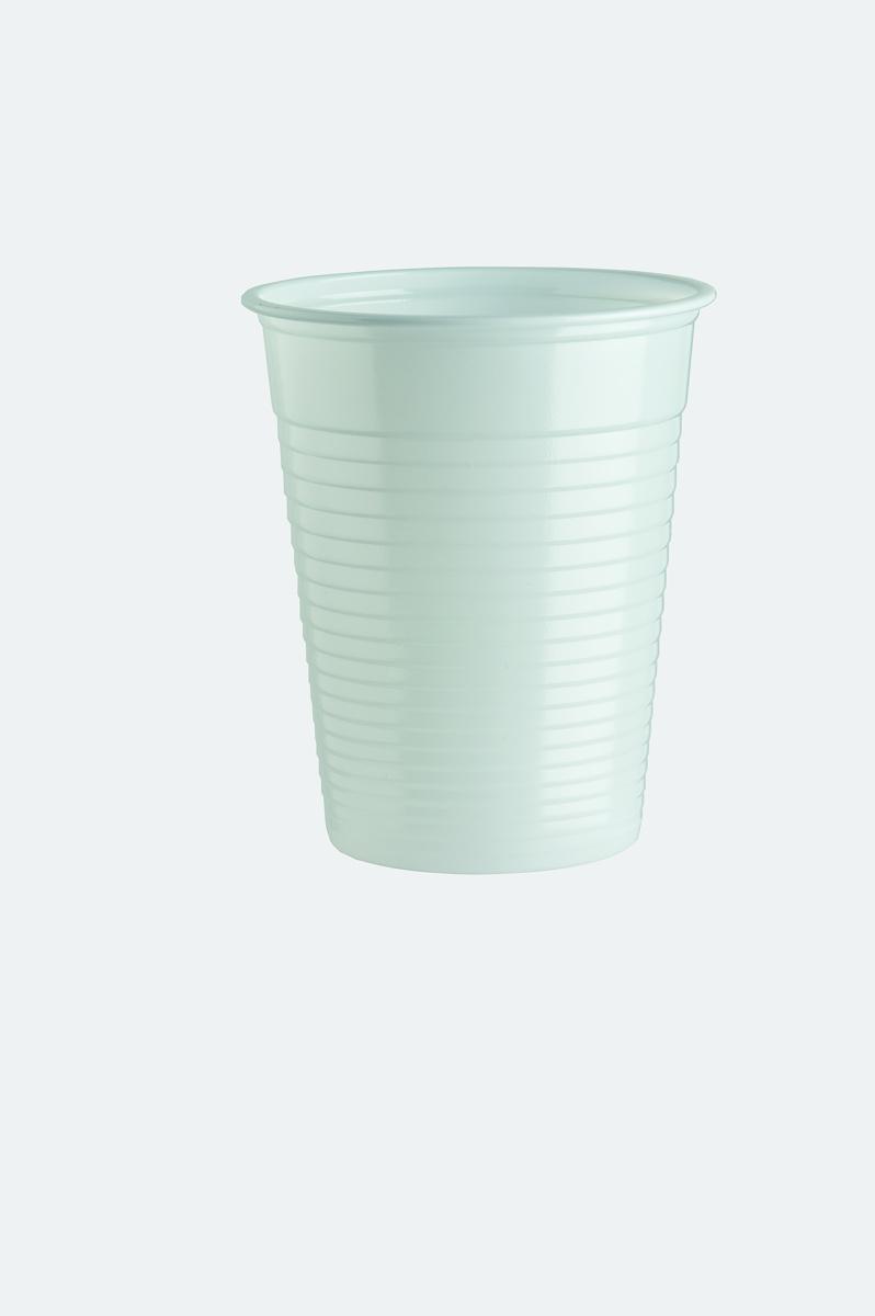Gobelet blanc plastique 20 cl (100 pièces)