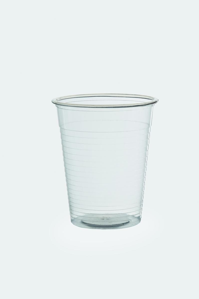 Gobelet transparent plastique 20 cl (500 pièces)