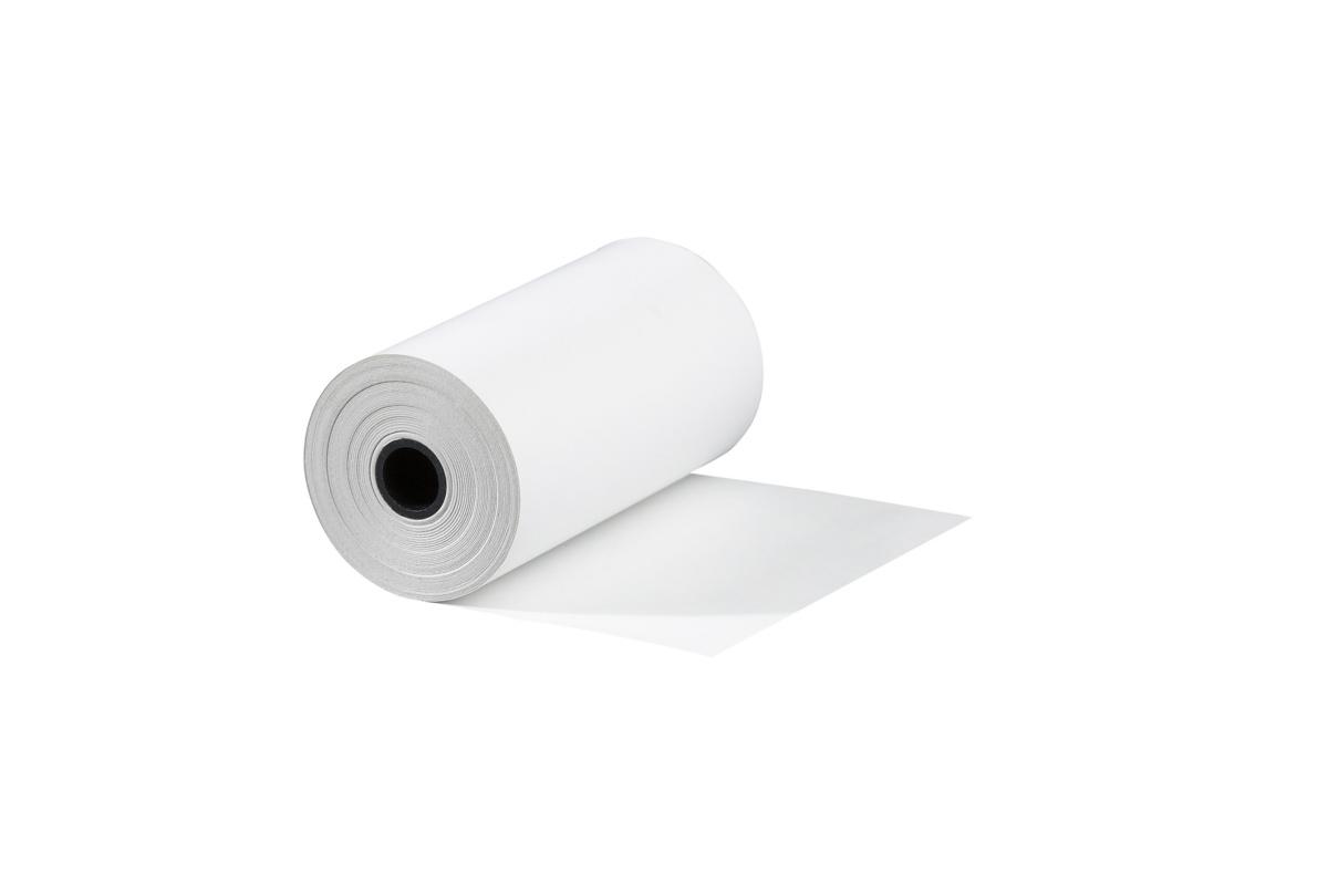 Bobine carte bancaire blanc papier 5,70x18 cm (50 pièces)