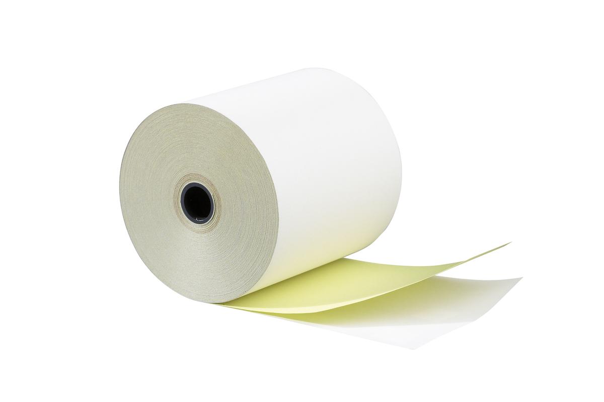 Bobine caisse enregistreuse blanc papier 70x22 mm (50 pièces)