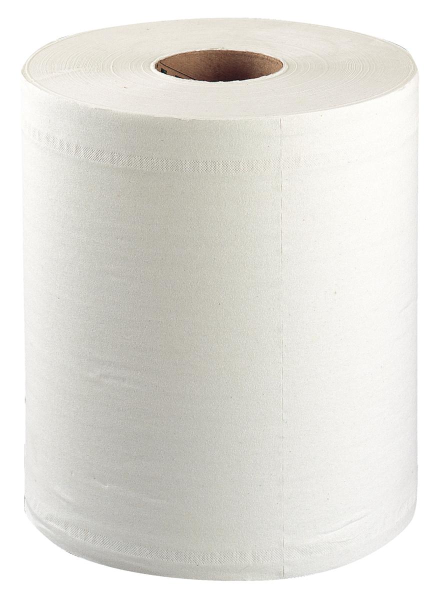 Bobine d'essuyage blanc ouate de cellulose 19,50x33,50 cm Reflex Tork (6 pièces)