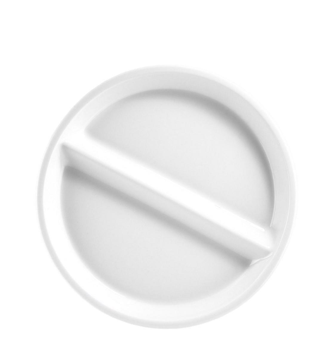 Assiette régithermie ronde blanc porcelaine Ø 23 cm Regithermie Pillivuyt