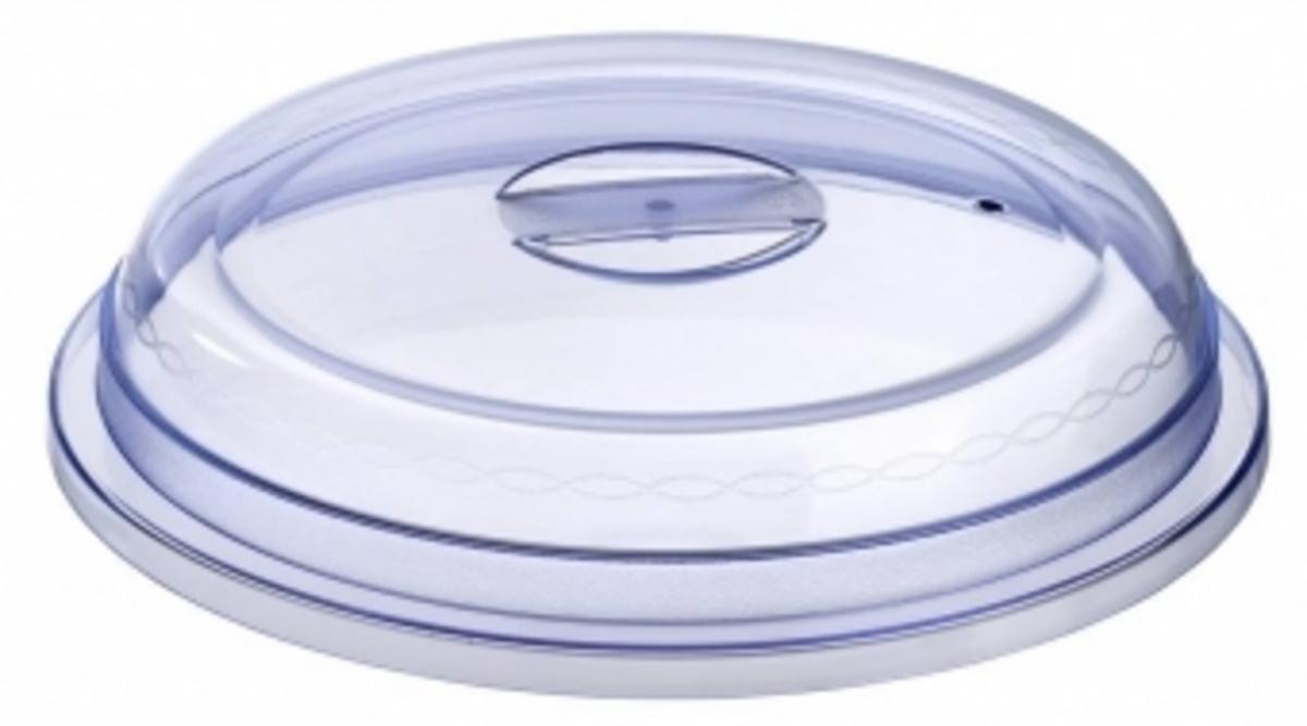 Cloche ronde transparente plastique Ø 24,30 cm Regithermie Pillivuyt