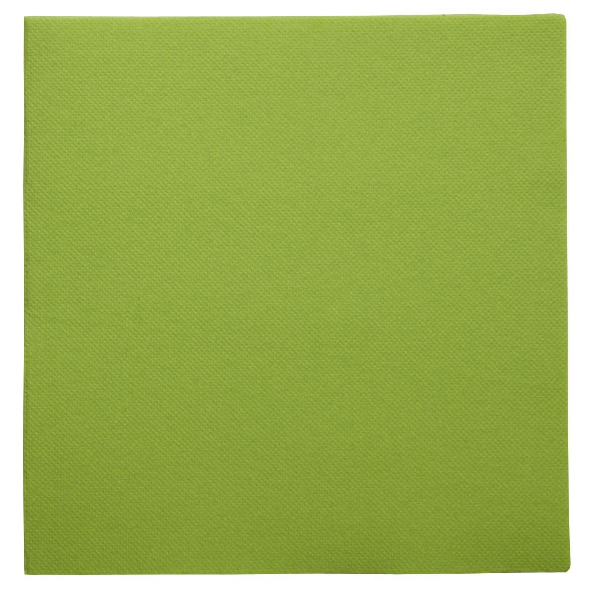 Serviette vert granny ouate de cellulose 38x38 cm Lisah Pro.mundi (50 pièces)