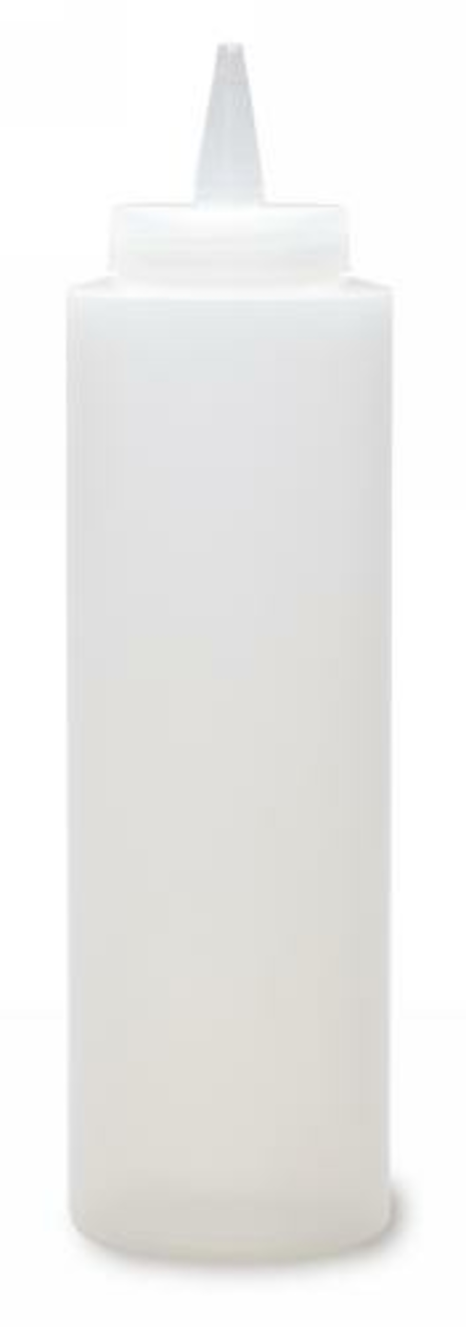 Distributeur de sauces rond transparent plastique 0,25 l Ø 24 cm Pro.mundi (4 pièces)
