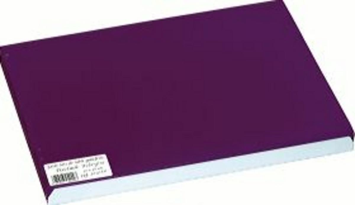Set de table aubergine papier 40x30 cm Tisslack Cogir (500 pièces)