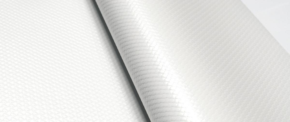 Nappe blanc papier Ø 120 cm Cogir (250 pièces)