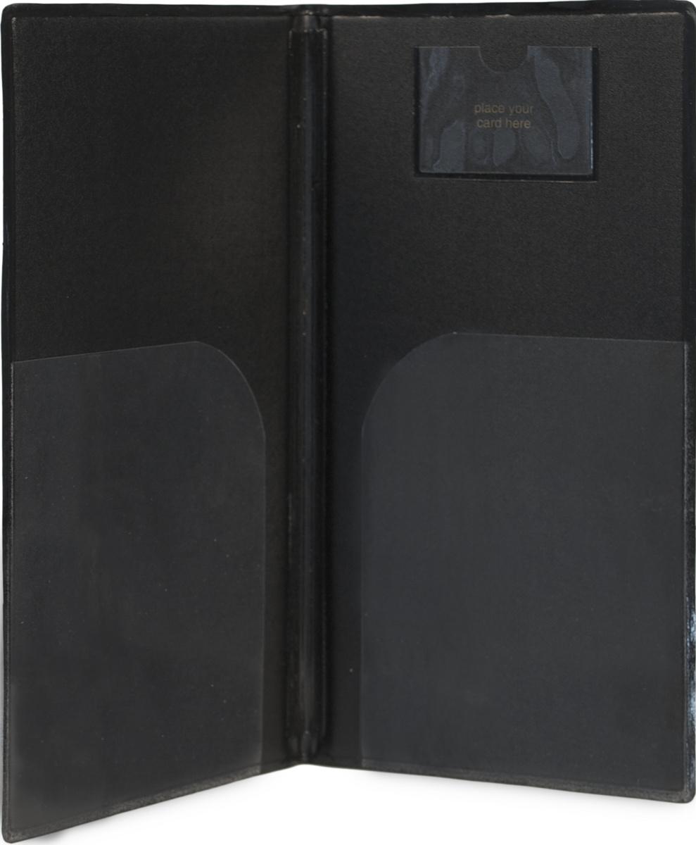 Porte-addition rectangulaire noir 13x23 cm Securit