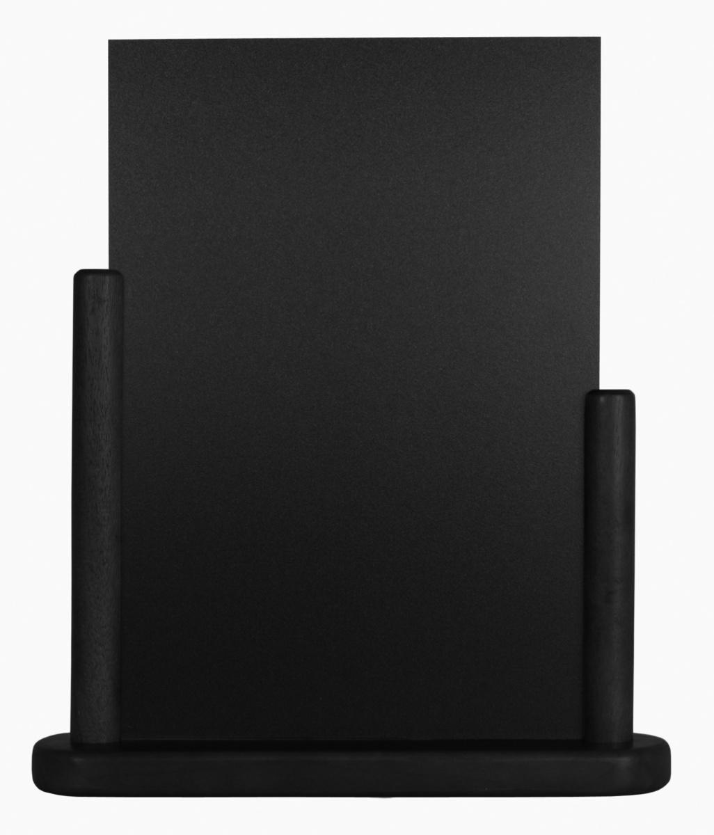 Chevalet de table rectangulaire noir 27,50 cm Classique Securit