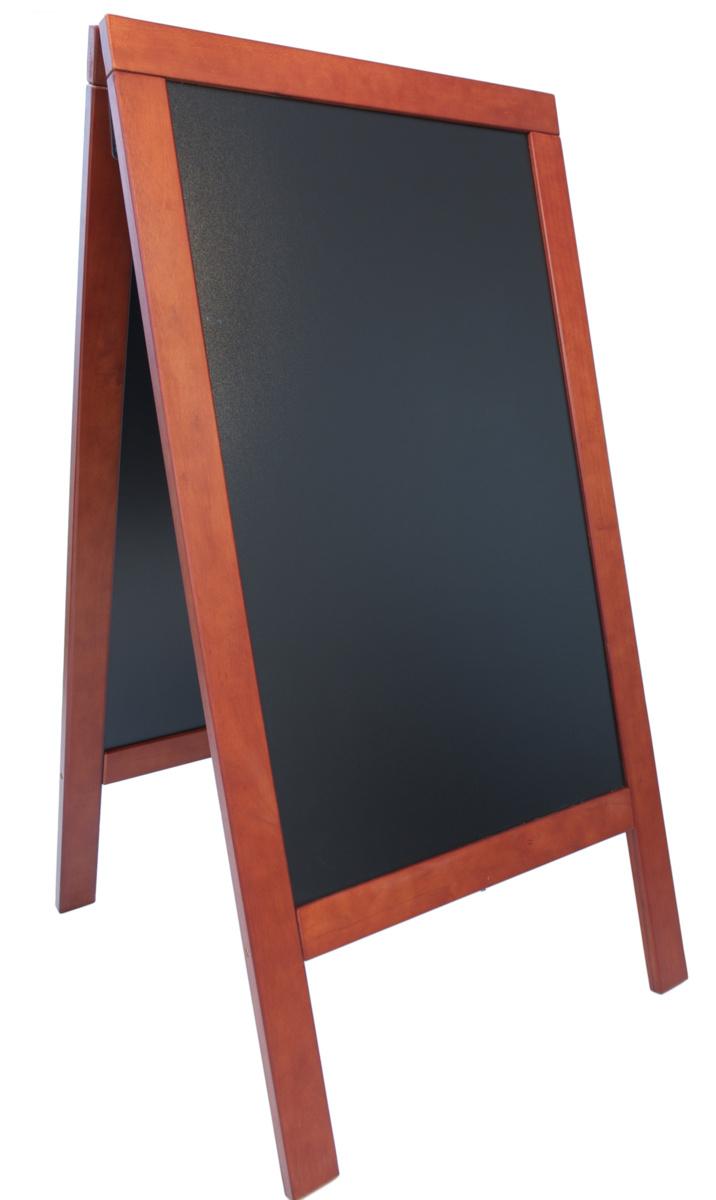 Chevalet de trottoir rectangulaire 66x75 cm Securit
