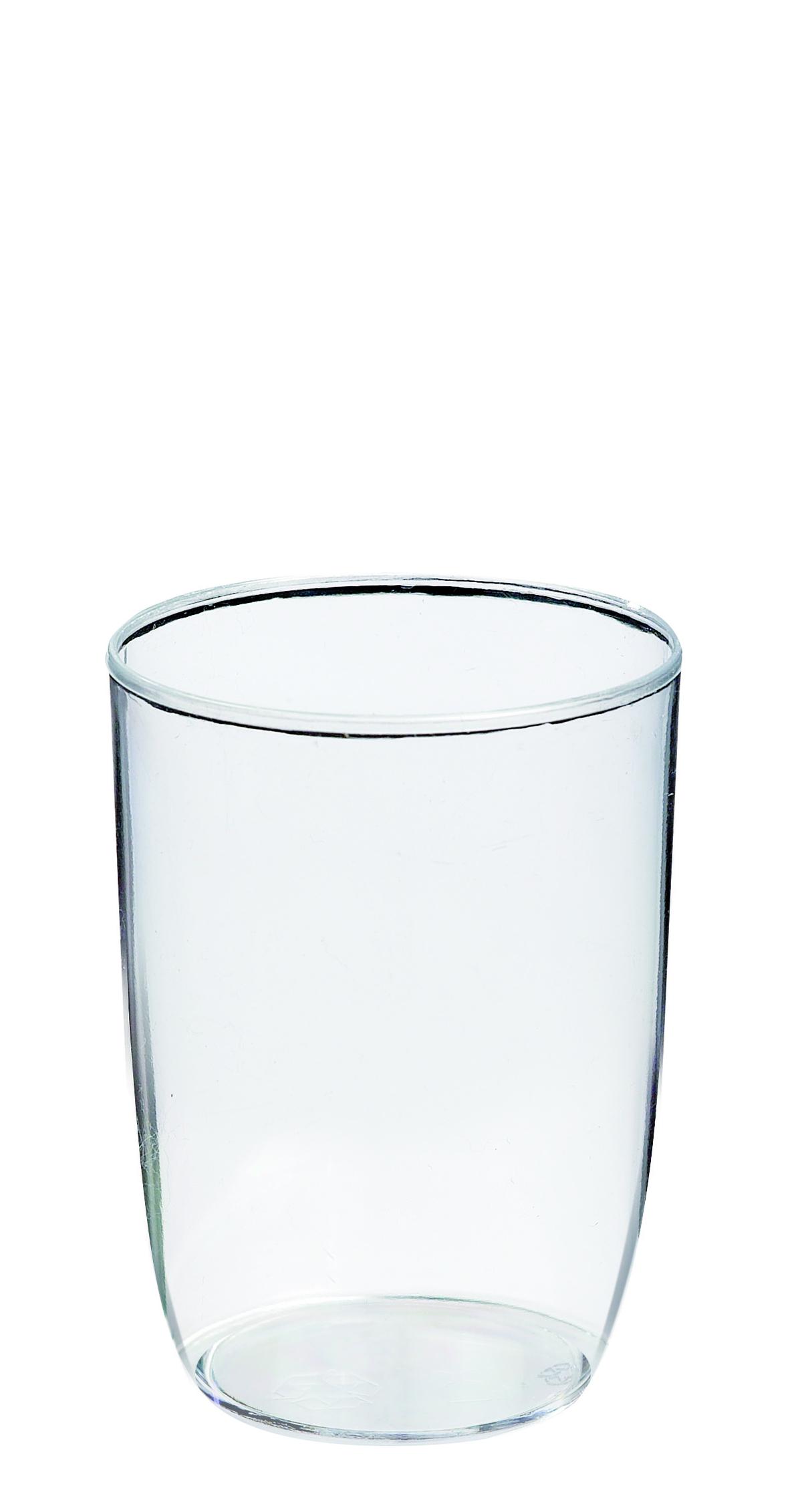 Verrine ronde transparente Ø 4 cm 3,5 cl Solia (60 pièces)