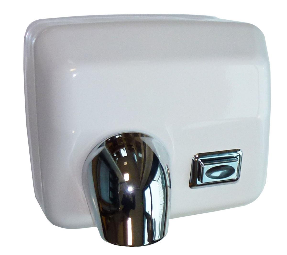 Sèche-mains blanc 2600 W Ouragan Jvd