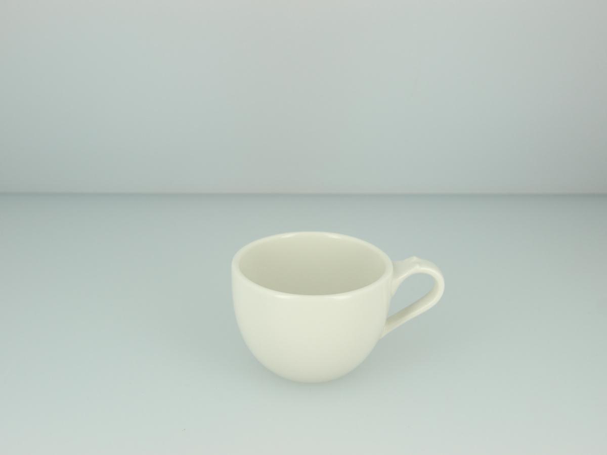 Tasse à thé ronde ivoire porcelaine 20 cl Ø 8 cm Anna Rak