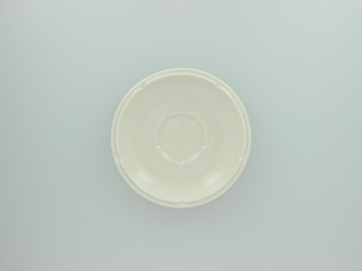Sous-tasse à déjeuner ronde ivoire porcelaine Ø 16 cm Anna Rak