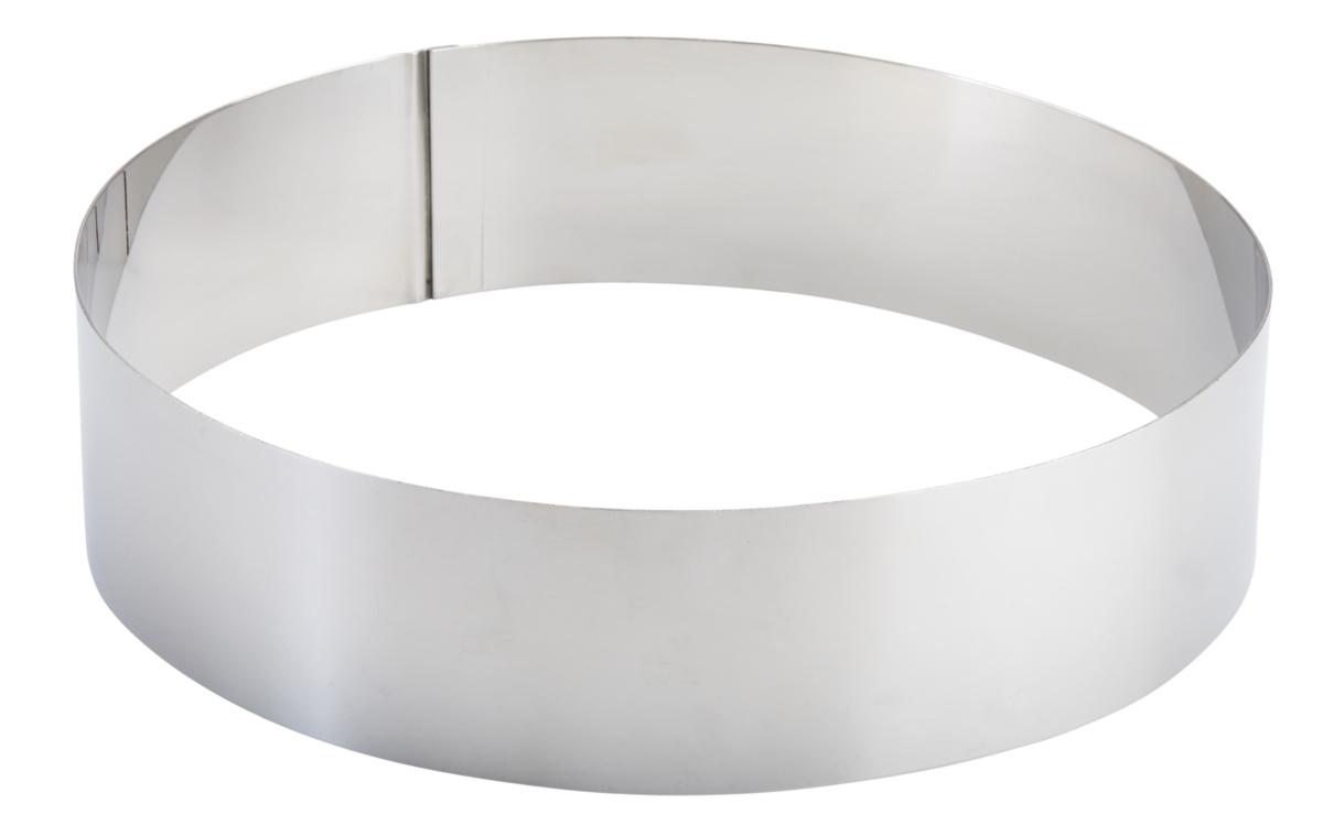 Cercle inox Ø 24 cm