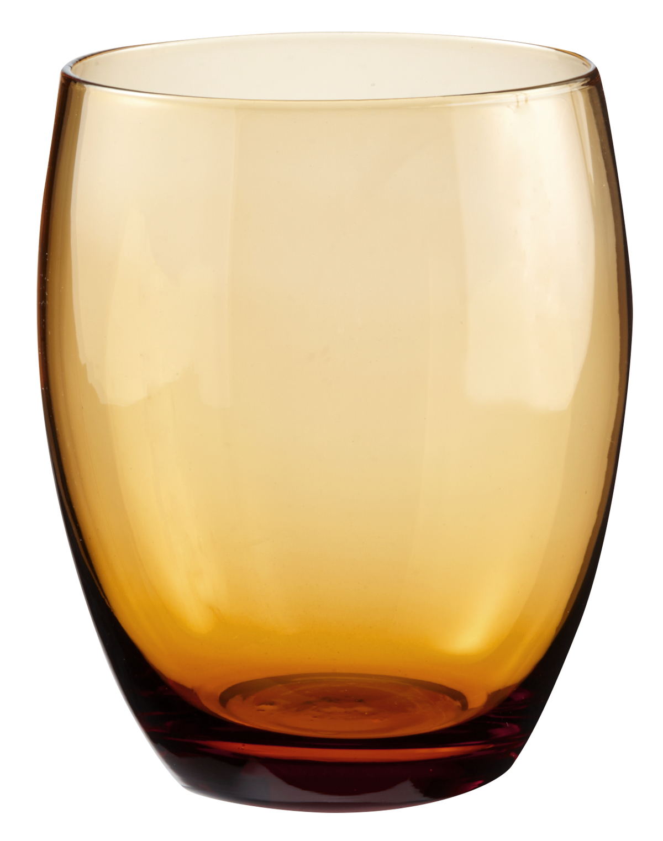 Gobelet forme basse ambre 30 cl Baya Essentials Glassware