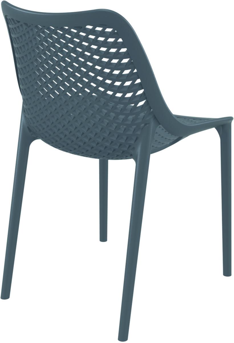 Chaise gris foncé 50 cm Air