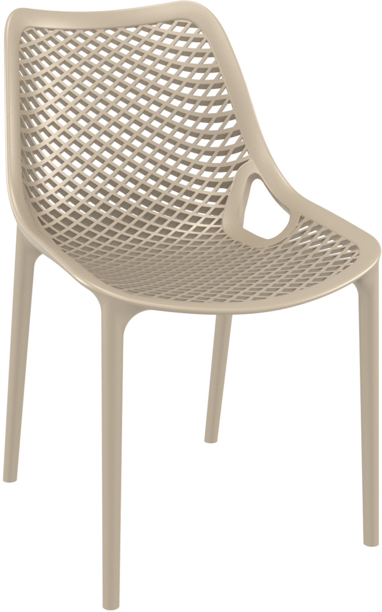 Chaise taupe 50 cm Air