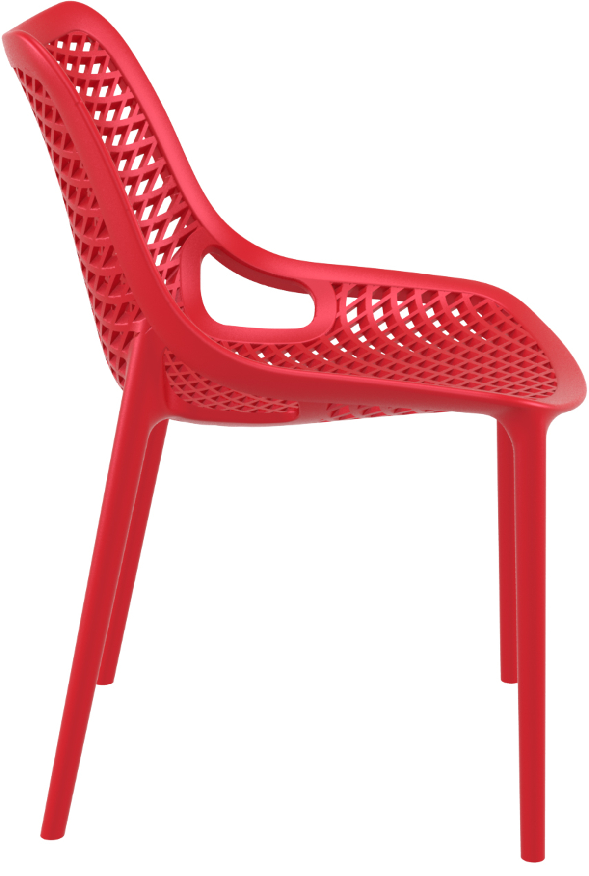 Chaise rouge 50 cm Air