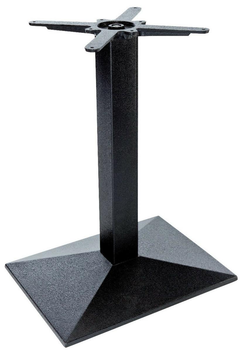 Pied de table noir 55x40 cm Rome