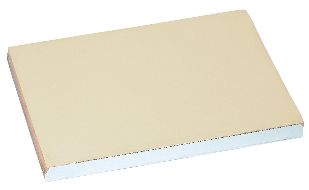 Set de table ivoire papier 40x30 cm Tisslack Cogir (500 pièces)