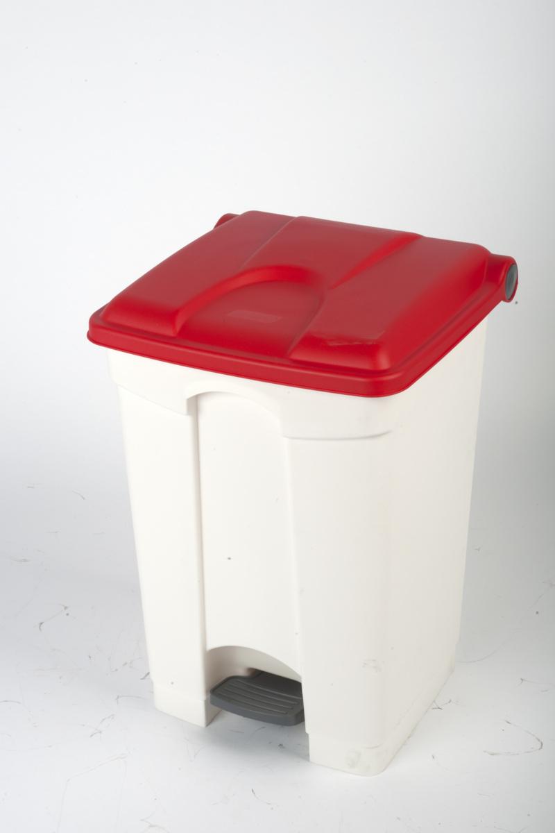 Collecteur à pédale rouge plastique 45 l Probbax