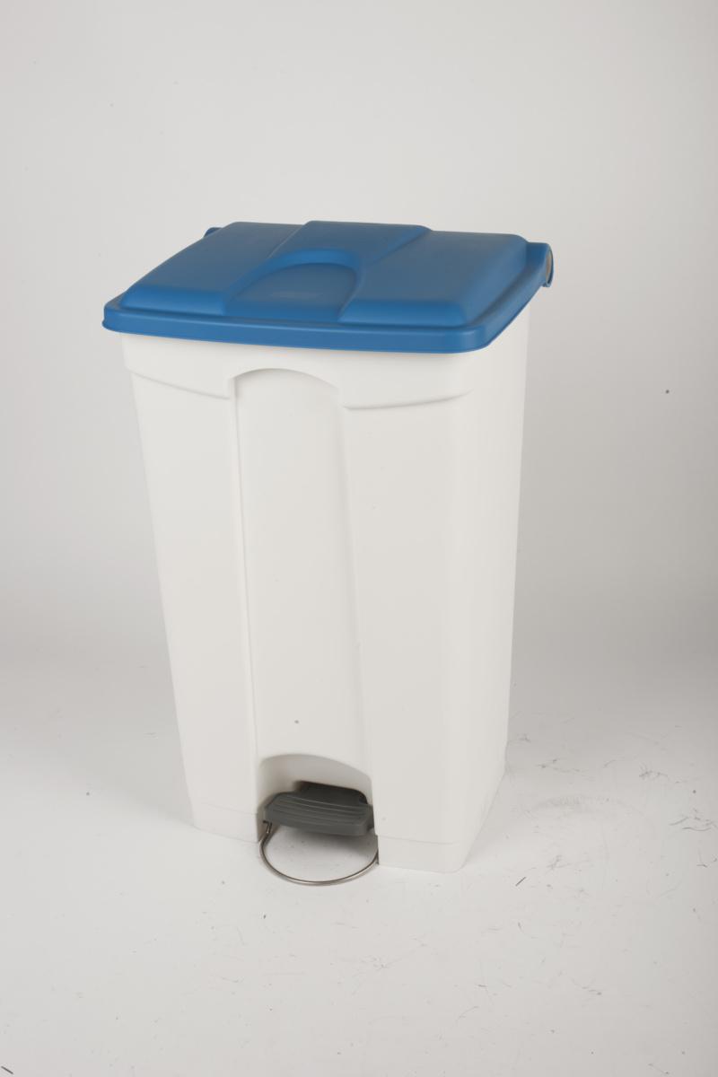 Collecteur à pédale bleu plastique 90 l Probbax